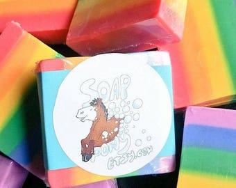 Rainbow Soap [Solid]