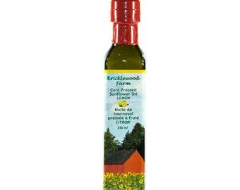 Lemon Infused Sunflower Oil