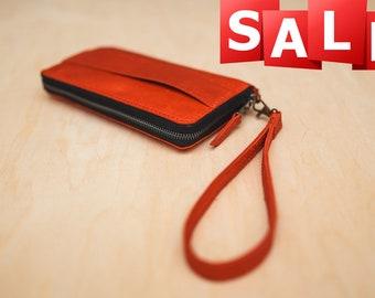 Women's purse-clutch, Woman clutch bag,Women's wallet, Leather Clutch wallet Iphone Personalized wallet long travel wallet free shipping