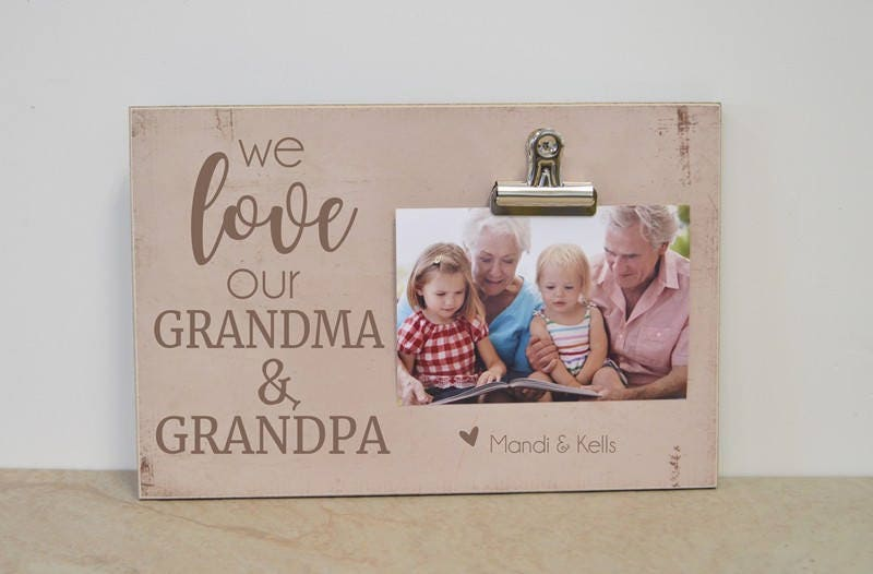 Modern I Love Grandma And Grandpa Frame Elaboration - Ideas de ...