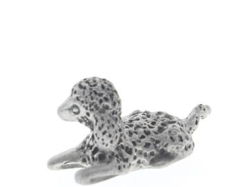 Pewter Figurine Baby Lamb or Sheep