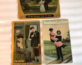 Valentine Postcard Lot