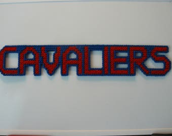 Cavaliers in Handmade, Needlepoint Magnets