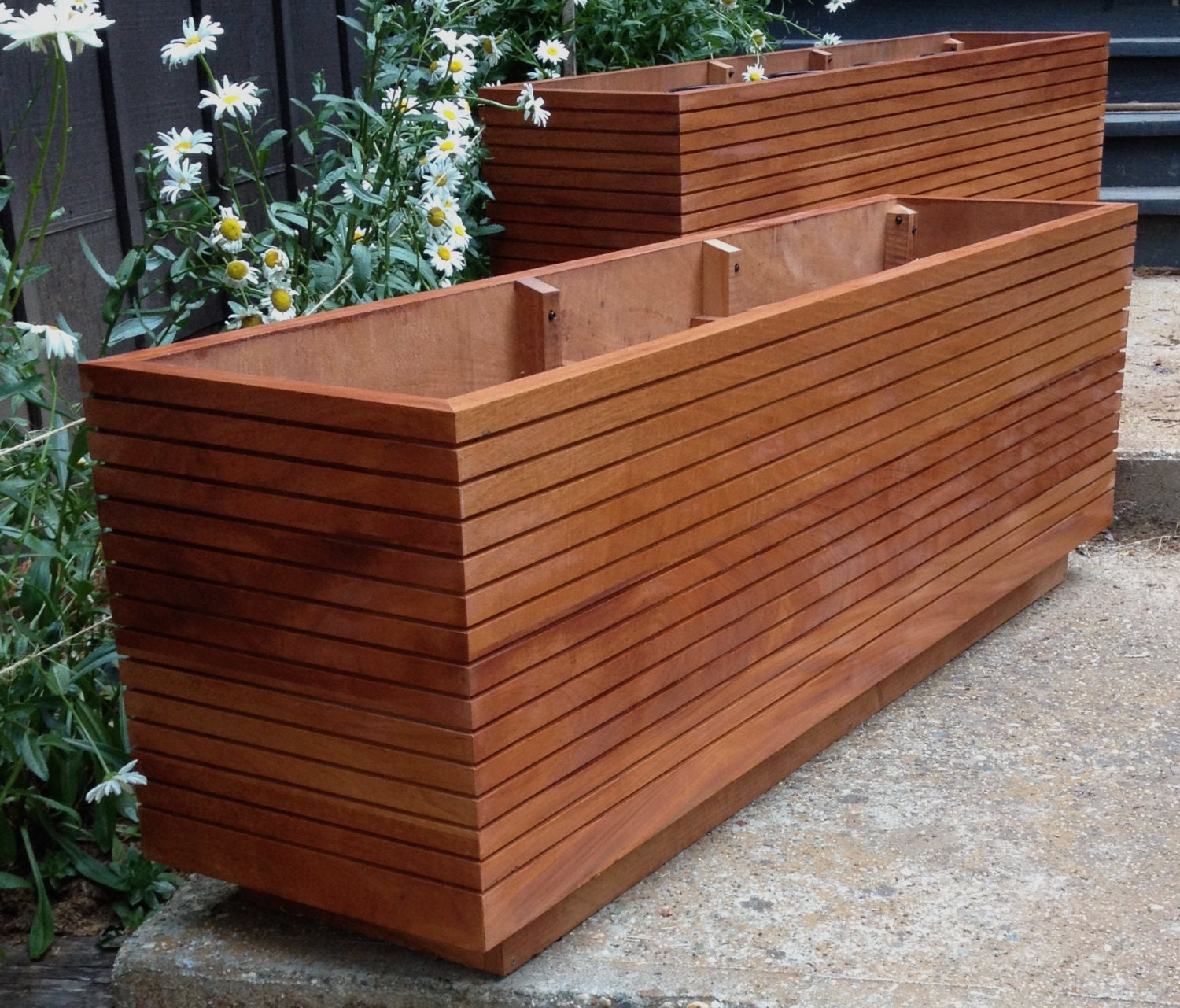 make vista s boxes box vistas planter for bike lane prototype mar it