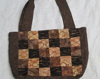 Patchwork Coffee tote