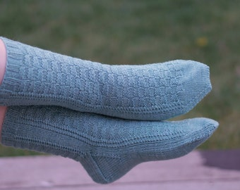 Ainger Socks PDF Knitting pattern