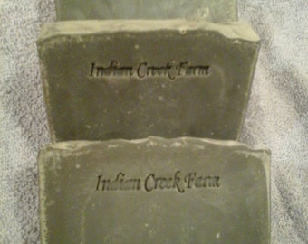 Leather Scented Soap / Handmade Soap / Luxury Soap / Artisan Soap / Scented Soap / Bar Soap / Mens Soap