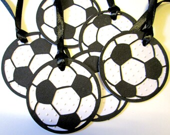 20 Personalized Soccer Gift Tags, Soccer Birthday, Soccer Tags, Soccer Party Decor, Soccer Favor Tags, Bag Tags, Thank You Tags, Favors