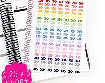 LS59 Triple Arrow Stickers.  Perfect for Erin Condren, Plum Paper, or Kikki k Planners!!!