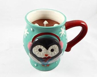 READY TO SHIP - Jumbo Hot Chocolate & Marshmallow Candle