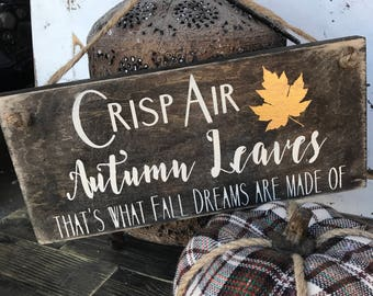 Fall decor - fall sign - thanksgiving - autumn decor - rustic - fall vibes - holiday decor - wood signs - friendsgiving