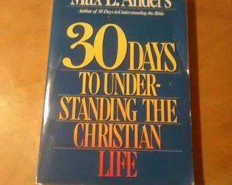 30 days to understanding Christian life book