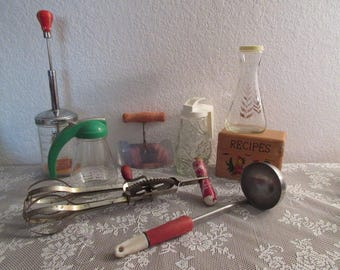 Vintage Kitchen Odds and Ends Collectibles