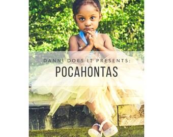Pocahontas inspired Tutu dress