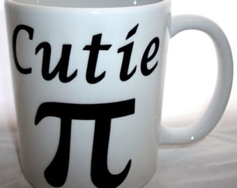 Cutie Pi Science Maths Novelty Design Ceramic Coffee Tea Mug