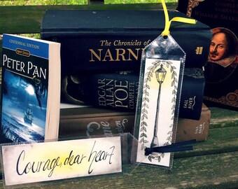 OOAK Chronicles of Narnia Bookmark Duo