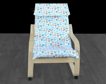 Puppy Dogs Kids Poang Seat Cover