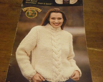 Fast Knit Fashions--Lion Brand -- KCDestash