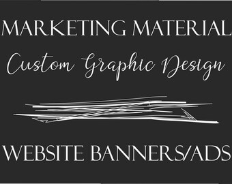 Custom Graphic Design - Website Banners/Ads