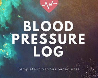 Blood Pressure Monitor Log Template