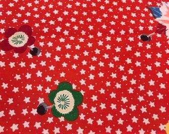 Star pattern kimono cloth