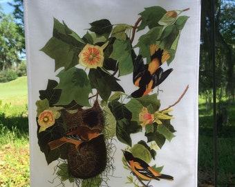 Baltimore Oriole, Jumbo Audubon Garden Flag