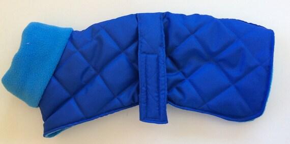 Waterproof whippet coat readymade