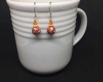 Orange You Glad You Got These Earrings? - Earrings