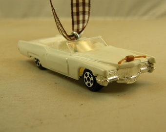 Boss Hoggs Cadillac - FREE SHIPPING -Anytime Ornament  Cadillac Convertible - Dukes of Hazzard ManCave - Dad - Birthday  Fathers Day Classic