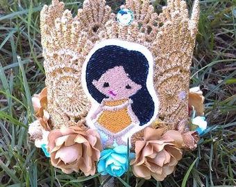Princess Crown, Birthday Crown, Halloween, Costume Crown
