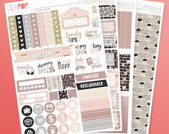 Weekly Sticker Kit, Weekly Stickers, Weekly Kit - FK020