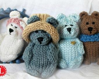 Amigurumi Knitting Tutorial : Monty and myrtle the monsters u amigurumi crochet pattern