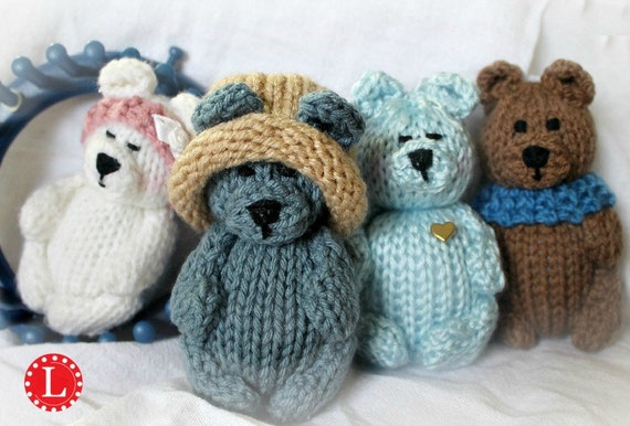 Amigurumi Loom Patterns : Loom knitting patterns toys doll amigurumi tiny dolls teddy
