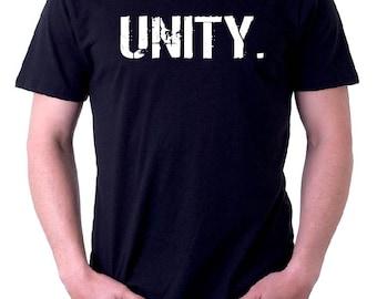 The BLACK & WHITE Line - oneWORD UNITY Tee