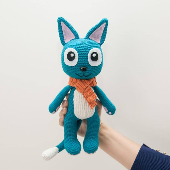 Happy from Fairy tail soft toy