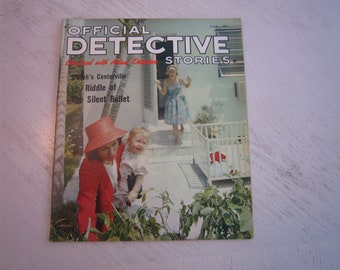 Official Detective Stories October 1963 - high grade