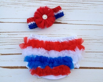 4th of July Patriotic Diaper Cover