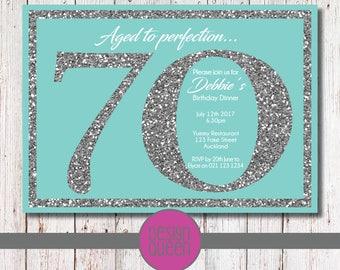 Tiffany blue invitations Etsy