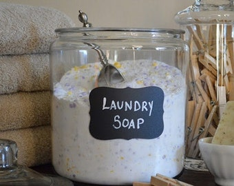 All Natural Powdered Laundry Soap - Detergent Free & Vegan-Friendly