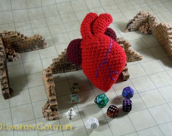 Heart of an Adventurer Amigurumi