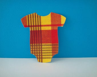 Cut out Bodysuit madras for scrapbooking and card