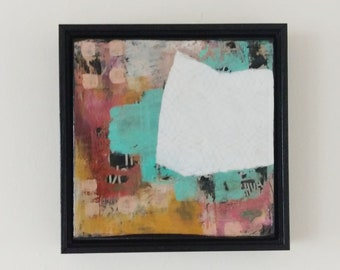 Trending Now - Original Abstract Painting - Pastel Abstract Art , Great Coworker Gift Art