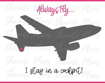 Always Fly Digital Journaling Card