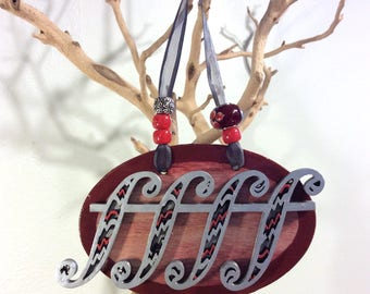 Not-so-silent Night - music themed Christmas ornament