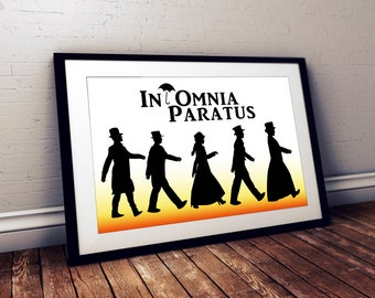 Gilmore Girls In Omnia Paratus poster quote poster Life and Death Brigade revival quote Ready for Anything Rory logan
