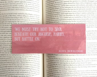 Harry Potter Quote Bookmark - Albus Dumbledore