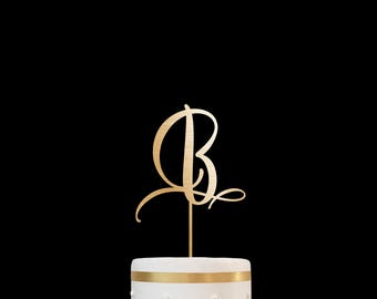 Customized Wedding Cake Topper Personalized Cake Topper for Wedding, Custom Personalized Wedding Cake Topper, Monogram Cake Topper 25