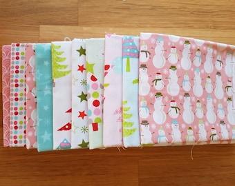Christmas Collection Bundle - 10 x FQ Bundle