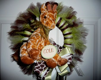 New Baby Wreath - Jungle