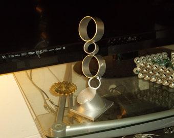 Metal Sculpture of Rings